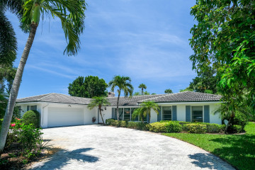 Home for Sale at 144 Country Club Drive, Tequesta FL 33469