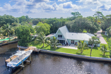 Home for Sale at 9245 SE Cove Point Street, Tequesta FL 33469