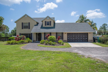 Home for Sale at 1350 C Road, Loxahatchee Groves FL 33470