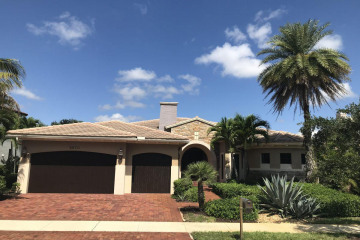 Home for Sale at 6870 Long Leaf Drive, Parkland FL 33076