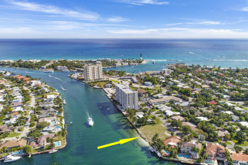 Home for Sale at 2511 N Riverside Drive, Pompano Beach FL 33062