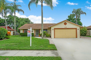 Home for Sale at 113 Prado Street, Royal Palm Beach FL 33411