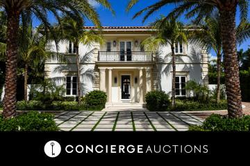 Home for Sale at 201 Dunbar Road, Palm Beach FL 33480