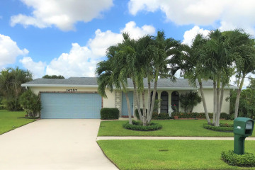 Home for Sale at 14737 Sunny Waters Lane, Delray Beach FL 33484