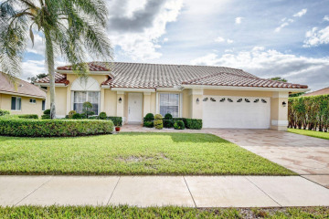 Home for Rent at 10496 Milburn Lane, Boca Raton FL 33498
