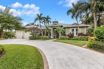 Home for Sale at 24 Tradewinds Circle, Tequesta FL 33469
