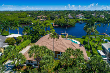 Home for Sale at 18432 SE Heritage Drive, Tequesta FL 33469