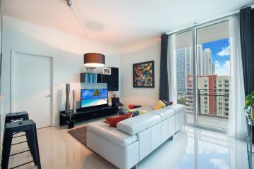 Home for Sale at 350 NE 24th Street #1103, Miami FL 33137