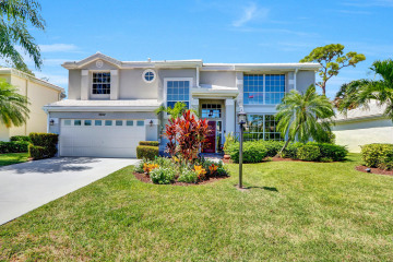 Home for Sale at 18172 SE Wood Haven Lane, Tequesta FL 33469