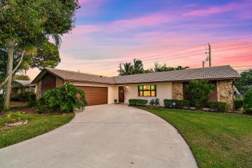 Home for Sale at 4328 Nicole Circle, Tequesta FL 33469