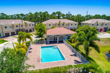 Home for Sale at 6288 SE Portofino Circle #11-1, Hobe Sound FL 33455