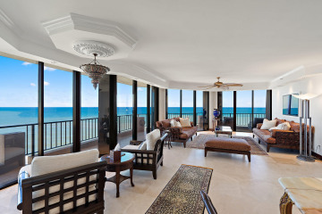 Home for Sale at 530 Ocean Drive #PH-N, Juno Beach FL 33408