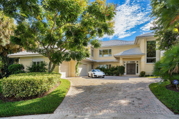 Home for Sale at 101 Bowsprit Drive, North Palm Beach FL 33408
