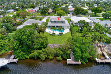 Home for Sale at 584 Anchorage Drive, North Palm Beach FL 33408