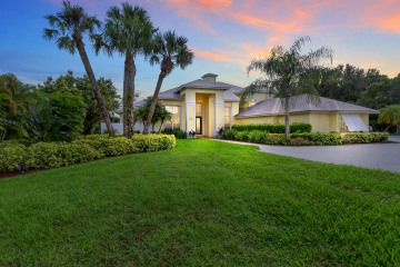 Home for Sale at 11700 SW Tangerine Court, Palm City FL 34990