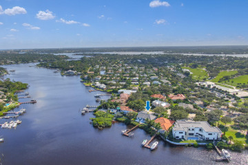 Home for Sale at 20 Eastwinds Circle, Tequesta FL 33469