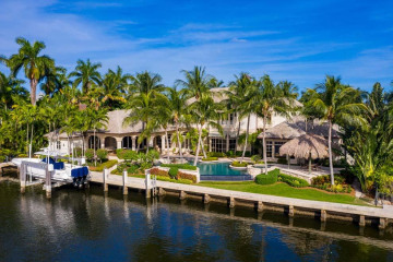 Home for Sale at 1033 Waterway Lane, Delray Beach FL 33483