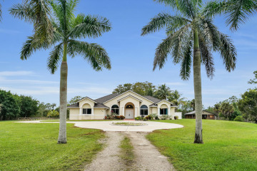 Home for Sale at 3585 Cabbage Palm Way, Loxahatchee FL 33470