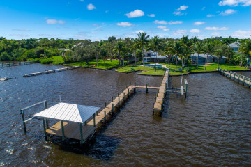 Home for Sale at 2241 SW Riverside Drive, Palm City FL 34990