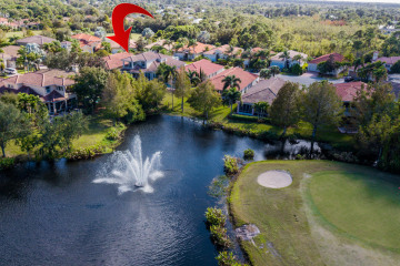 Home for Sale at 832 SW Pebble Lane, Palm City FL 34990