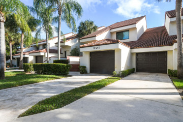 Home for Sale at 301 Sea Oats Drive Drive #C, Juno Beach FL 33408
