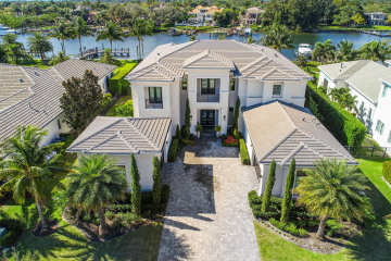 Home for Sale at 13839 Baycliff Drive, North Palm Beach FL 33408
