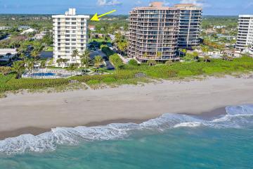 Home for Sale at 500 Ocean Drive #E-12A, Juno Beach FL 33408