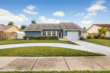 Home for Sale at 1522 Fulmar Drive, Delray Beach FL 33444