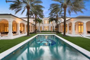 Home for Sale at 111 W Bears Club Drive, Jupiter FL 33477