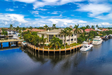 Home for Sale at 2330 NE 31 Court, Lighthouse Point FL 33064