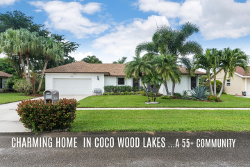 Home for Sale at 14897 Sunnyview Lane, Delray Beach FL 33484