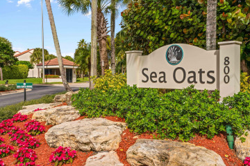 Home for Sale at 205 Sea Oats Drive #H, Juno Beach FL 33408