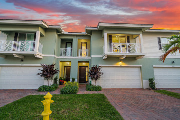 Home for Sale at 1884 Juno Landing Lane, Juno Beach FL 33408