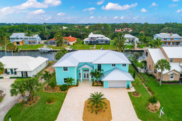 Home for Sale at 8500 SE Sabal Street, Hobe Sound FL 33455