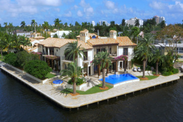 Home for Sale at 615 Lido Drive., Fort Lauderdale FL 33301