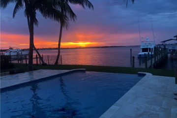 Home for Sale at 1190 SW Dyer Point Road, Palm City FL 34990