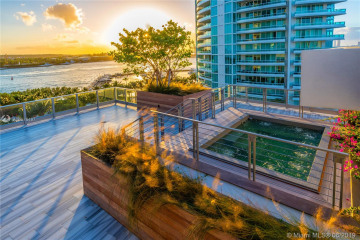 Home for Sale at 801 S Pointe Dr #PH1, Miami Beach FL 33139