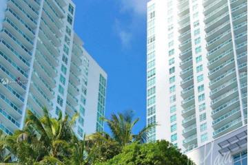 Home for Rent at 951 Brickell Av #1411, Miami FL 33131