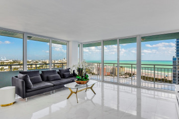 Home for Sale at 400 S Pointe Dr #2110, Miami Beach FL 33139