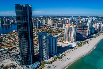 Home for Sale at 18555 Collins Ave #1603, Sunny Isles Beach FL 33160