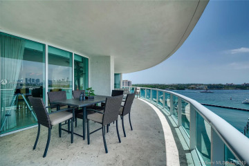 Home for Sale at 1000 S Pointe Dr #801, Miami Beach FL 33139