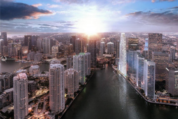 Home for Sale at 300 Biscayne Blvd Way #2404, Miami FL 33131