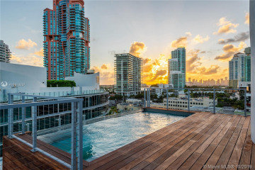 Home for Sale at 1 Collins Avenue #707, Miami Beach FL 33139
