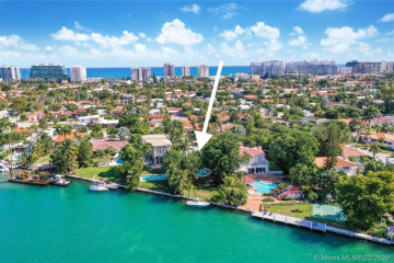 Home for Rent at 9234 Bay Dr, Surfside FL 33154