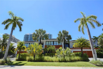 Home for Sale at 385 Center Is Dr., Golden Beach FL 33160