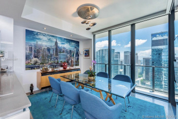 Home for Sale at 88 SW 7th St #3701, Miami FL 33130