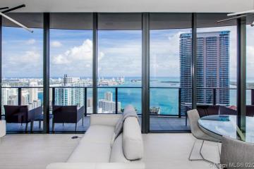 Home for Rent at 1000 Brickell Plaza #PH6105, Miami FL 33131