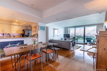 Home for Sale at 650 West Ave #1807, Miami Beach FL 33139