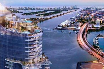 Home for Sale at 851 NE 1 Av #4911, Miami FL 33331