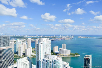 Home for Rent at 1000 Brickell Plaza #3802, Miami FL 33131